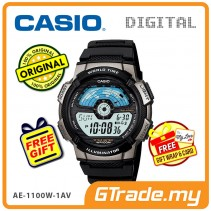 CASIO STANDARD AE-1100W-1AV Digital Watch | 10 Yrs Batt. WR100M