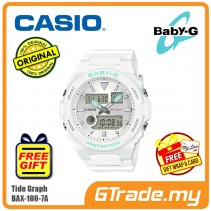 Casio Baby-G BAX-100-7A Women Ladies Digital Watch G-LIDE sports lineup [PRE]