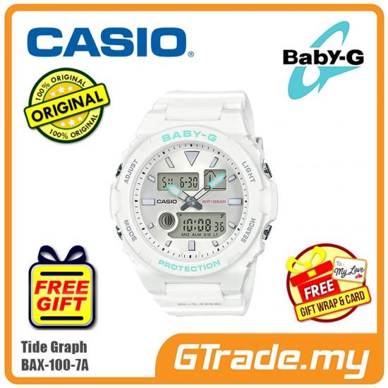 Casio Baby-G BAX-100-7A Women Ladies Digital Watch G-LIDE sports lineup [PRE]