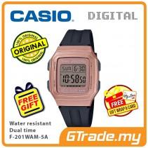 Casio Men F-201WAM-5A Digital Watch Jam Tangan Digital Lelaki [PRE]