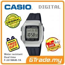 Casio Men F-201WAM-7A Digital Watch Jam Tangan Digital Lelaki [PRE]