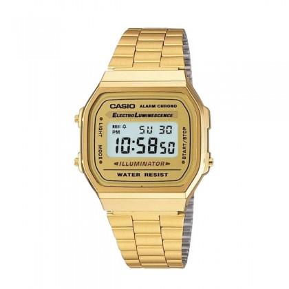 [READY STOCK] CASIO STANDARD A168WG-9E Digital Watch | Vintage Alarm Auto Calendar