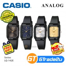 Casio Classic LQ-142E Women Ladies Analog Watch Jam Tangan Wanita [PRE]
