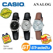 Casio Classic LTP-1095E Women Ladies Analog Watch Jam Tangan Wanita [PRE]