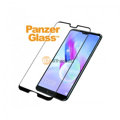 PanzerGlass Case Friendly Tempered Glass Screen Proctector Black Huawei P20 Pro *Free Gift