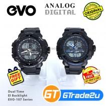 EVO-107 Mens Analog Digital Sport Watch Jam Tangan Analog Digital Lelaki [PRE]