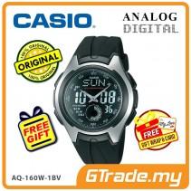 CASIO STANDARD AQ-160W-1BV Analog Digital Watch | Full Face LCD