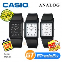 Casio Classic MQ-27 Mens Analog Watch Jam Tangan Lelaki [PRE]