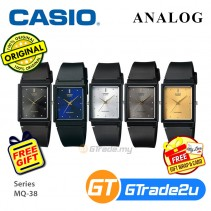 Casio Classic MQ-38 Mens Unisex Analog Watch Jam Tangan Unisex [PRE]