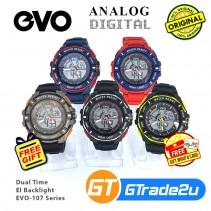 EVO-109 Mens Analog Digital Watch Sport Jam Tangan Digital Lelaki [PRE]
