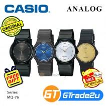 Casio Classic MQ-76 Mens Unisex Analog Watch Jam Tangan Unisex [PRE]