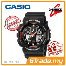 CASIO G-SHOCK GA-100-1A4 Analog Digital Watch | Magnetic Resist.