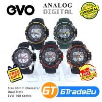 EVO-108 Mens Analog Digital Watch Sport Jam Tangan Digital Lelaki [PRE]