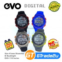EVO-110 Unisex Men Women Digital Sport Watch Jam Tangan Digital Unisex [PRE]