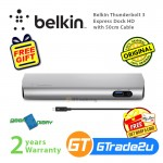 Belkin Thunderbolt 3 Express Dock HD with 50cm Cable 8x faster than USB 3.0 *Free Gift