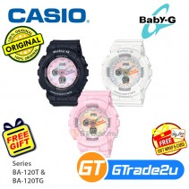 Casio Baby-G BA-120T BA-120TG Women Kids Digital Watch Only for 2019 Summer Baby-G [PRE]