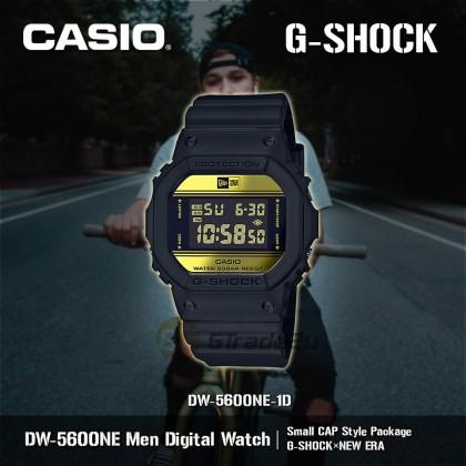 [READY STOCK] Casio G-Shock DW-5600NE-1D Digital Watch G-SHOCK×NEW ERA Baseball Cap
