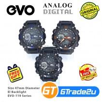 EVO-119 Men Digital Armor Sport Watch Jam Tangan Digital Lelaki [PRE]