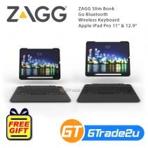 "ZAGG Slim Book Go Bluetooth Wireless Keyboard Apple iPad Pro 11"" 12.9"""
