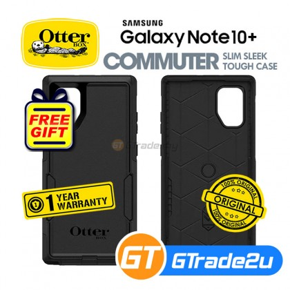 Otterbox Commuter Protect Case Samsung Galaxy Note 10 Plus Black *Free Gift