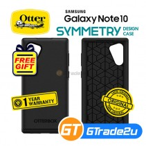 Otterbox Symmetry Slim Protect Case Samsung Galaxy Note 10 Black *Free Gift