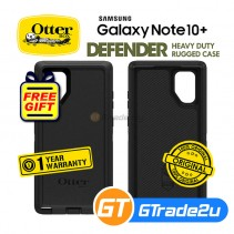 Otterbox Defender Rugged Tough Case Samsung Galaxy Note 10 Plus Black *Free Gift