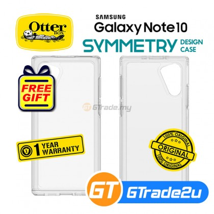 Otterbox Symmetry Slim Clear Case Samsung Galaxy Note 10 *Free Gift