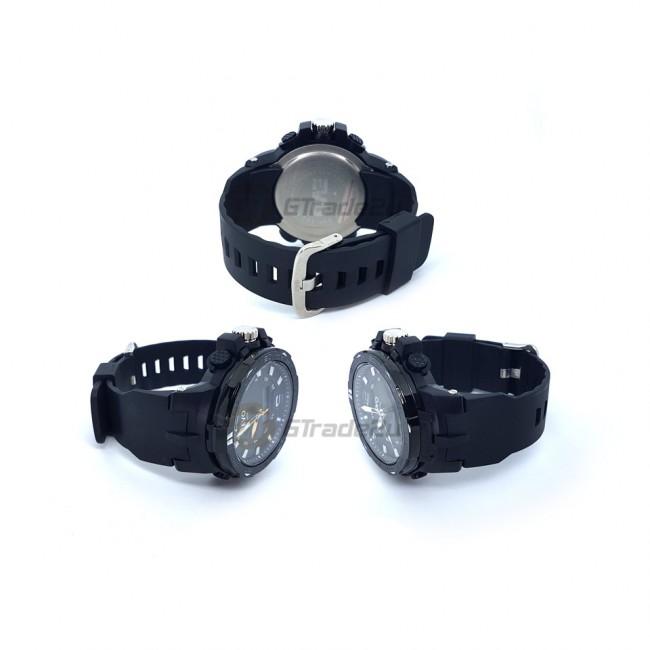 EVO-123 Men Analog Digital Casual Watch PU Band XL Case [PRE]