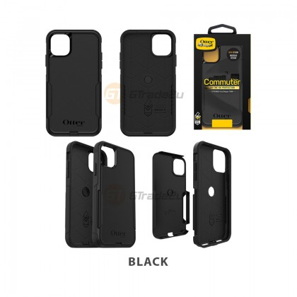Otterbox Commuter Double Layer Tough Case Apple iPhone 11 Black *Free Gift