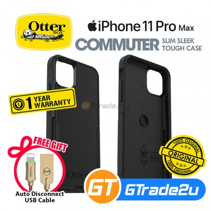 Otterbox Commuter Double Layer Tough Case Apple iPhone 11 Pro Max *Free Gift