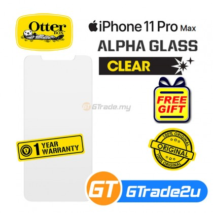 Otterbox Amplify Glare Guard Tempered Glass Screen Protector Apple iPhone 11 Pro Max