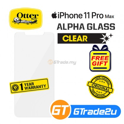 Otterbox Amplify Clear Tempered Glass Screen Protector Apple iPhone 11 Pro Max