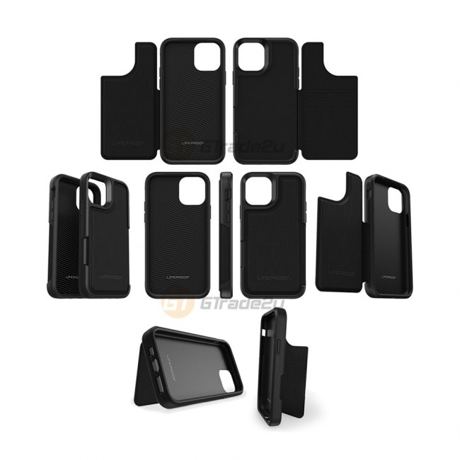 Lifeproof Flip Back Flap Panel Case Apple iPhone 11 Pro Dark Knight*Free Gift