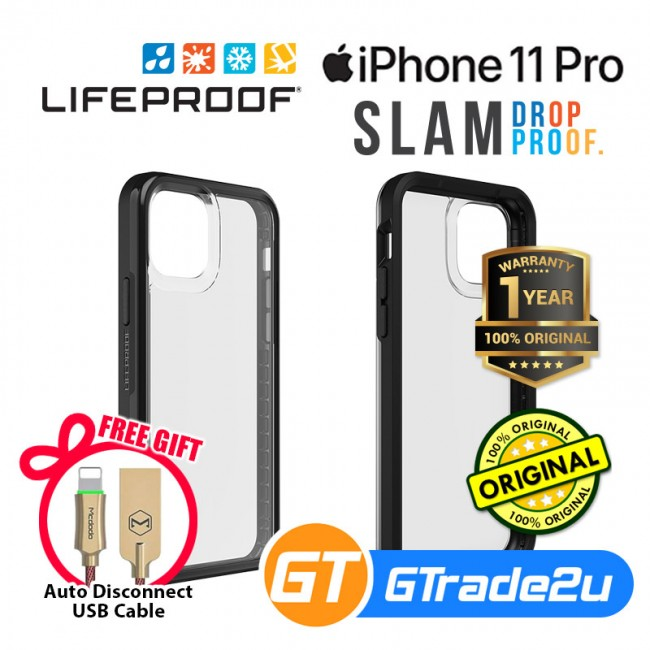 Lifeproof Slam Ultra Thin 1 Piece Case Apple iPhone 11 Pro*Free Gift