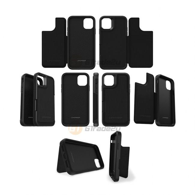 Lifeproof Flip Back Flap Panel Case Apple iPhone 11 Dark Knight*Free Gift