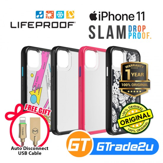 Lifeproof Slam Ultra Thin 1 Piece Case Apple iPhone 11*Free Gift