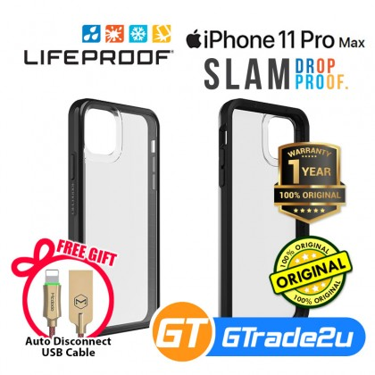 Lifeproof Slam Ultra Thin 1 Piece Case Apple iPhone 11 Pro Max*Free Gift