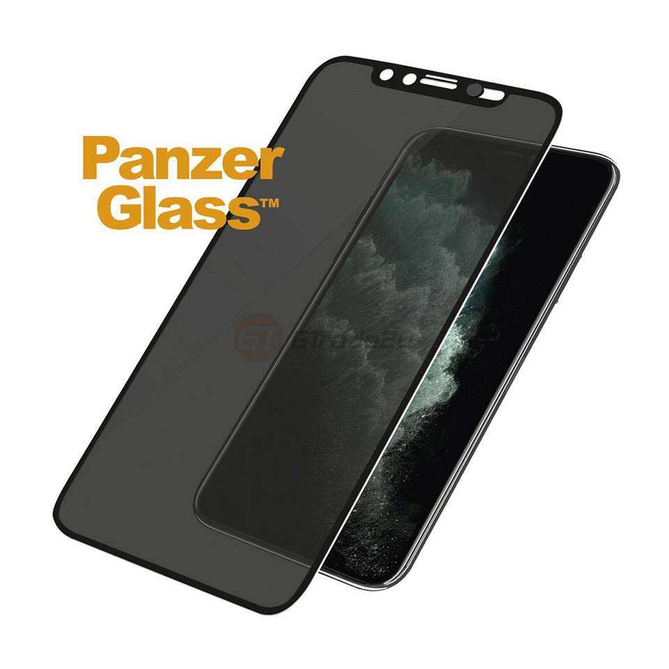 PanzerGlass Apple iPhone 11 Pro Max Case Friendly Black Screen Protector Full Frame Coverage Scratch Resistant and Shock Resistant
