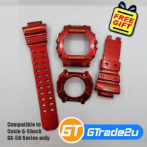 Custom Band & Bezel Special Iron Man for Casio G-Shock GX-56 Series