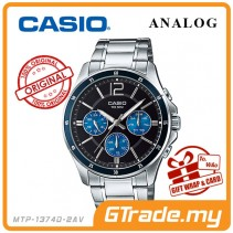 CASIO STANDARD MTP-1374D-2AV Analog Mens Watch | Date Day Display