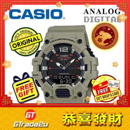 Casio Men HDC-700-3A3 Analog Digital Watch [READY STOCK] Jam Tangan Lelaki Watch For Man
