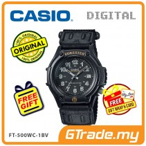CASIO FOREST FT-500WC-1BV Analog Watch | LED Military Outdoor Look