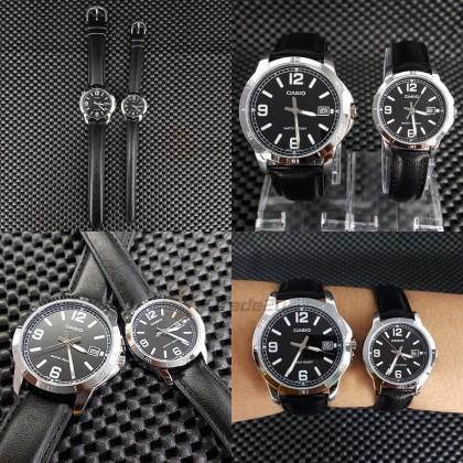 Casio Women Ladies LTP-V004L-1B Analog Watch [READY STOCK] watch for women jam tangan wanita