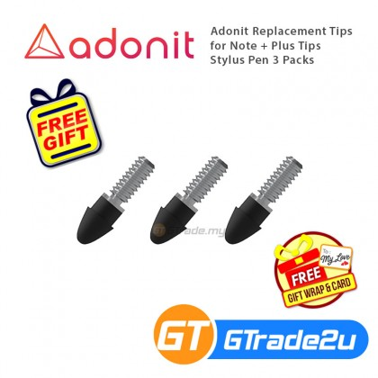 Adonit Replacement Tips for Note + Plus Tips Stylus Pen 3 Packs