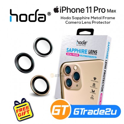 Hoda Sapphire Metal Frame Camera Lens Protector Apple iPhone 11 Pro Pro Max