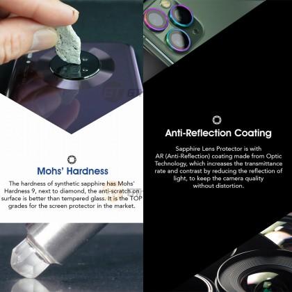 Hoda Sapphire Metal Frame Camera Lens Protector Huawei Mate P30 Pro