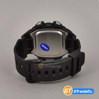[READY STOCK] Casio Standard Men DW-291H-9A Digital World Time Watch Black Gold Resin Band watch for man . jam tangan lelaki . men watch . watch for men . casio watch for men . casio watch