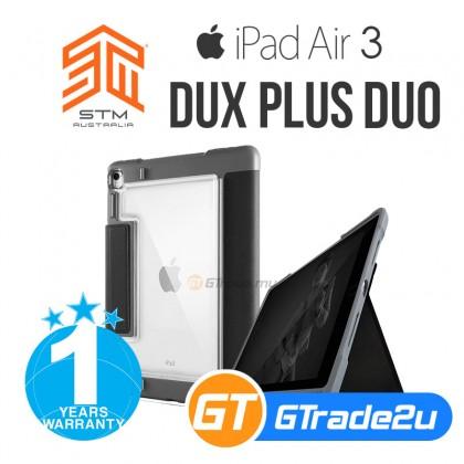 STM Dux Plus Duo Protect Tough Case US Military Spec iPad Air 3 Gen Pro 10.5 *Free Gift