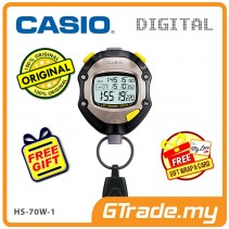 [READY STOCK] CASIO HS-70W-1 Hand Held Sports Track Field Digital Stopwatch