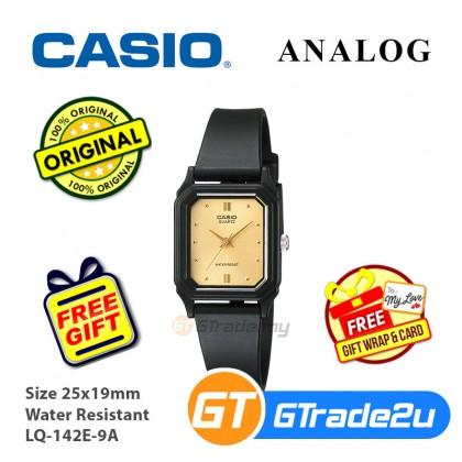 Casio Classic LQ-142E-9A Women Ladies Analog Watch Jam Tangan Wanita [READY STOCK]